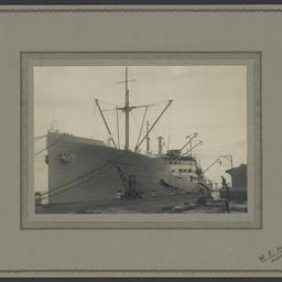 Parrakoola berthed at Portland