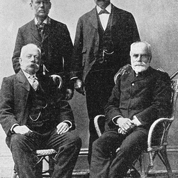 Members of Stuart's final expedition