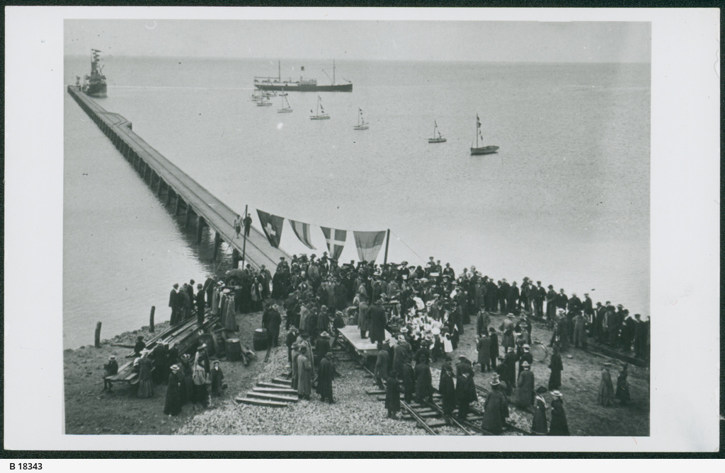 Opening of Stansbury Jetty