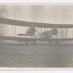 Vickers Vimy taking off from Kalijati