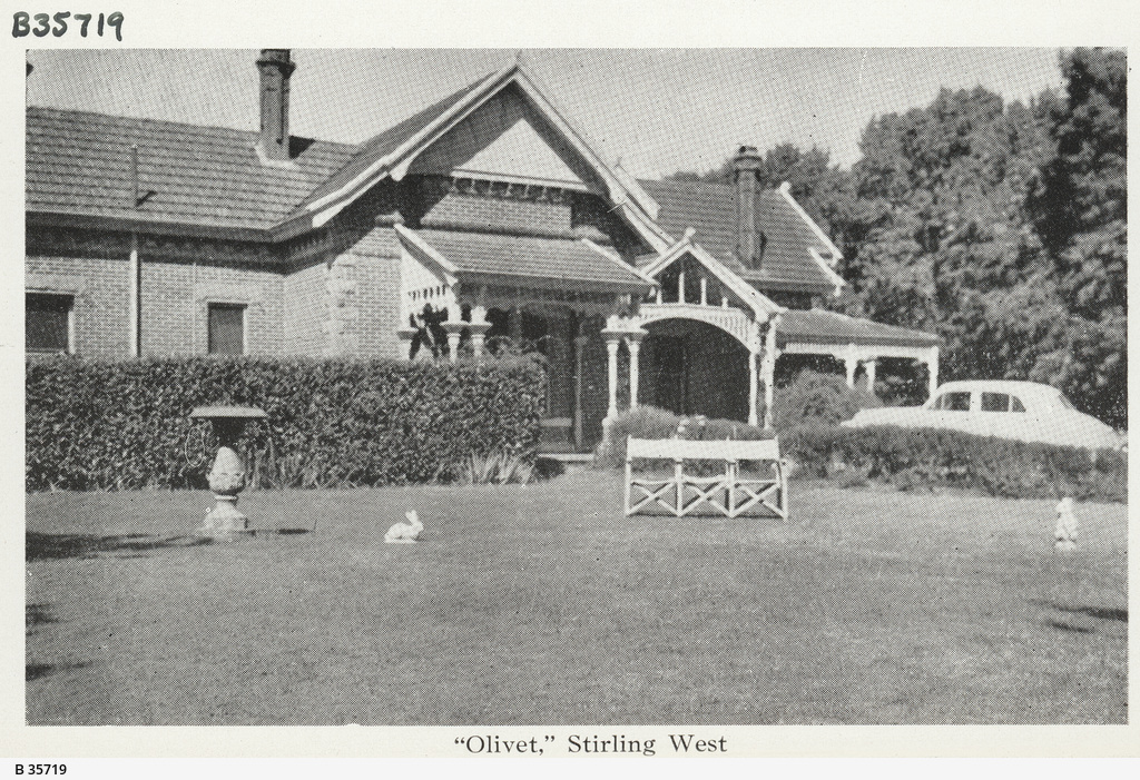 """""""Olivet House"""", Stirling"""
