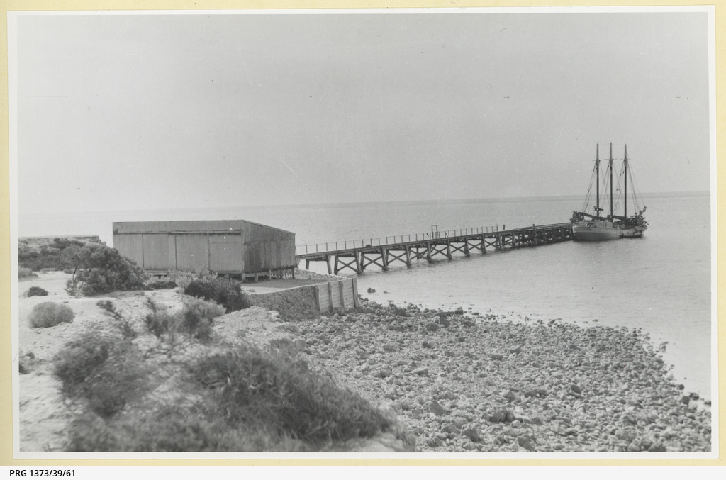 Balgowan jetty about 1930