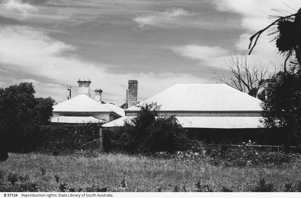 Gillap Station homestead at Furner