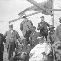 Arthur Searcy and members of the Marine Board