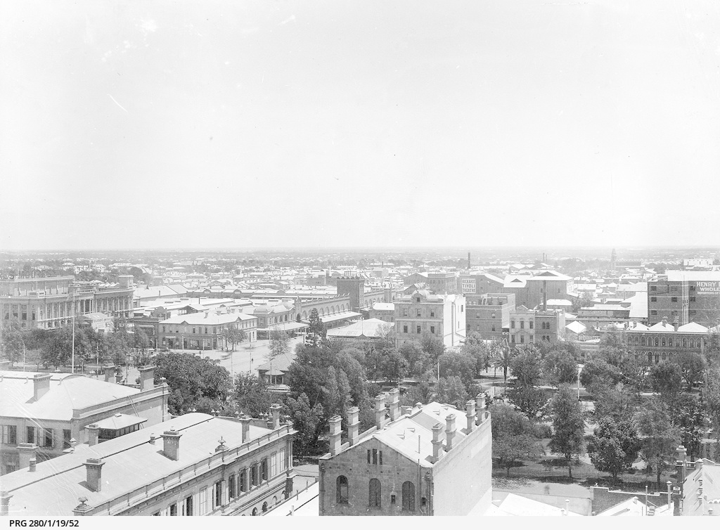 Victoria Square and surrounding buildings, Adelaide