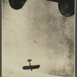 Shadow of Vickers Vimy.