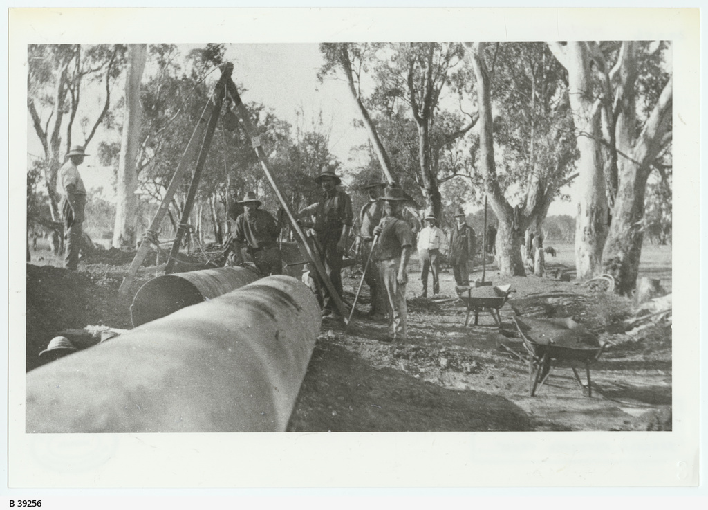 Pipeline construction, Morgan