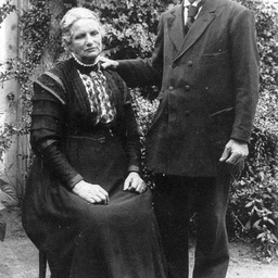 Portrait of Captain Hardy and Mrs Hardy