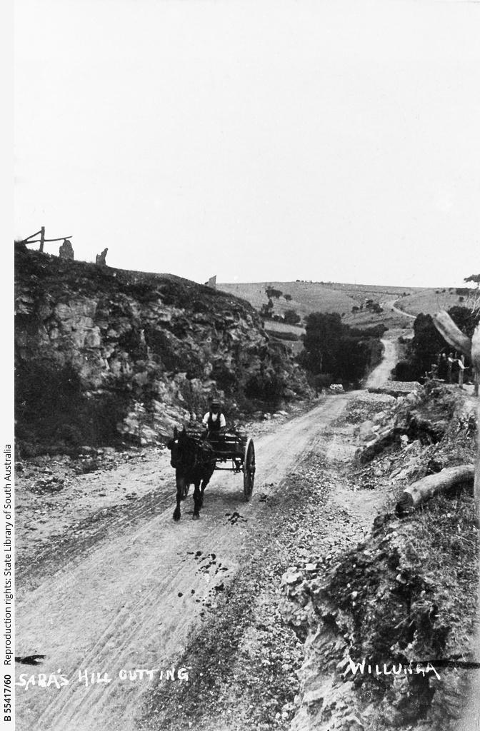 Sara's Hill cutting, Willunga