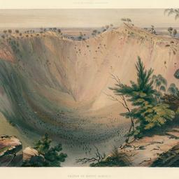 Crater of Mount Schank