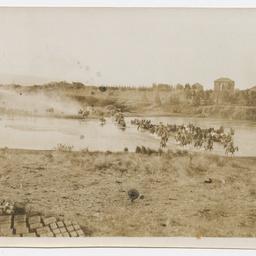 Crossing the Jordan River, World War I