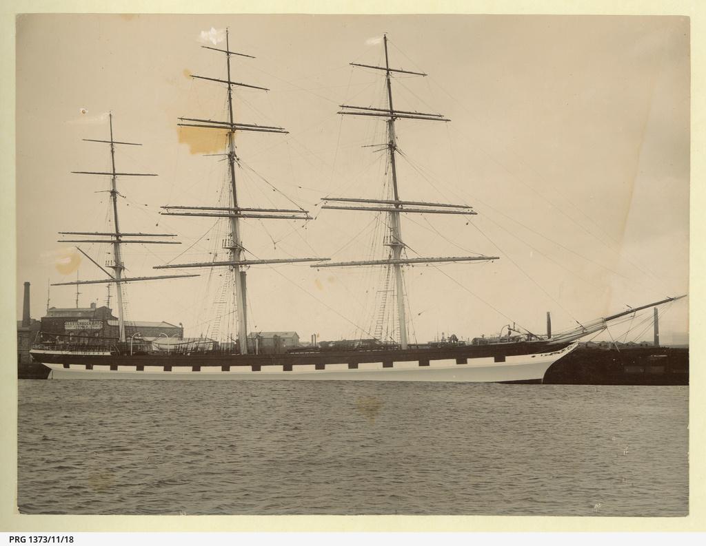 The 'Mermerus' at Port Adelaide