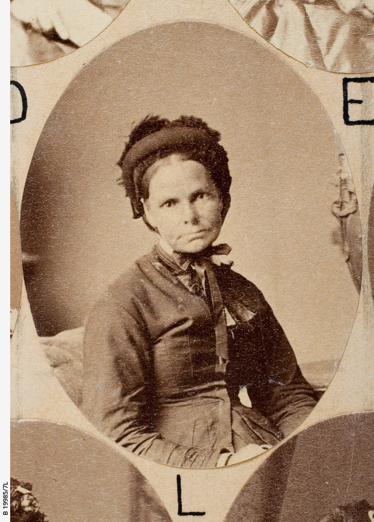 Group of [women] Old Colonists : Mary Ann Short