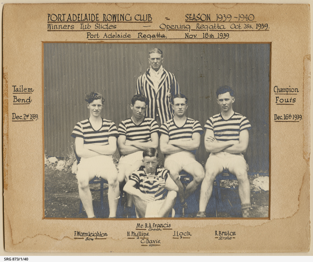 Champion Fours 1939, Port Adelaide Rowing Club