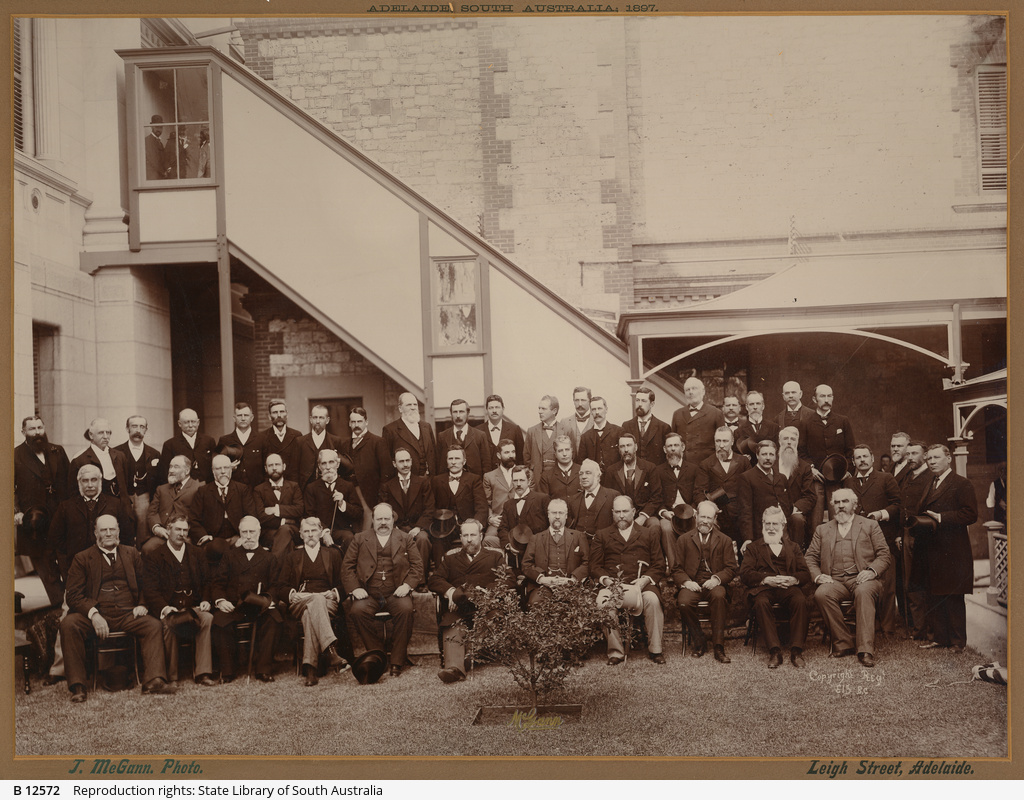[Federal Convention, Adelaide, South Australia, 1897.]