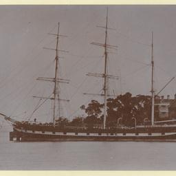 The 'Lumberman's Lassie' in Sydney Harbour