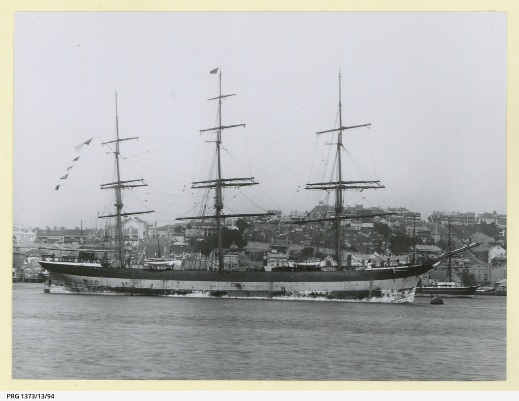 The 'Templemore' moored in an unidentified port