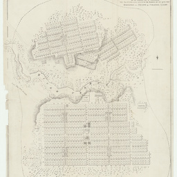 Plan of the city of Adelaide, in South Australia [cartographic material] : with the acre allotments numbered, and a reference to the names of the original purchasers / surveyed and drawn by Colonel Light