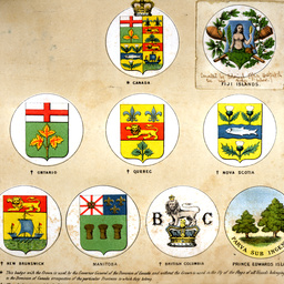 Emblems used for British Dominions flags