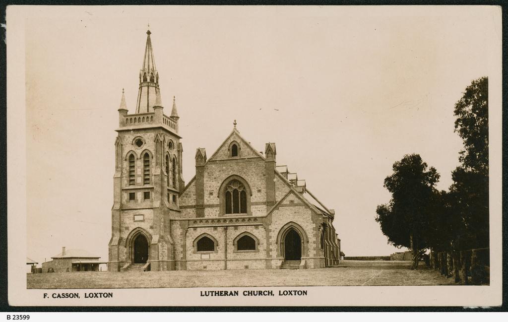 Lutheran church, Loxton