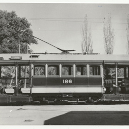 Photographs relating to Messenger Press : trams, traction engines