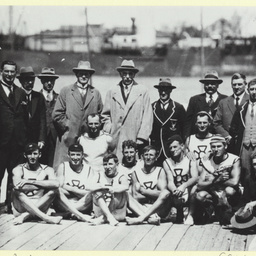 Olympic Rowing Team at Port Adelaide