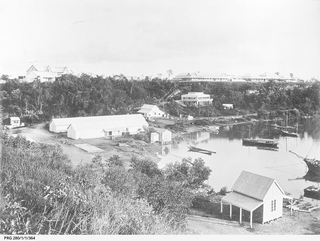 The harbour at Palmerston, later Darwin
