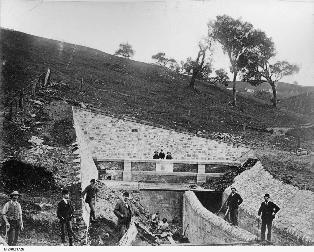 Happy Valley Reservoir : Outlet tunnel