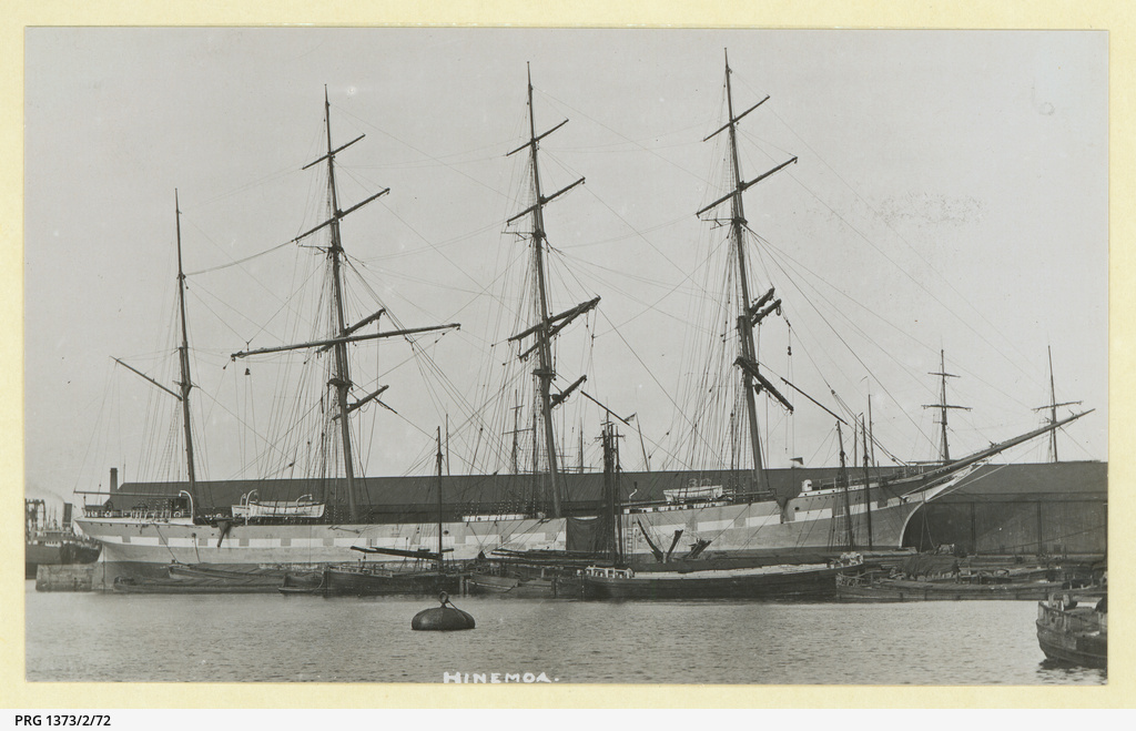 The 'Hinemoa' in an unidentified port
