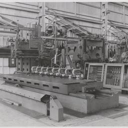 Engraving machine heads.
