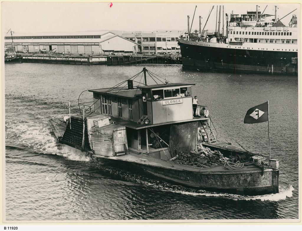 """Ulonga"" at Port Adelaide"