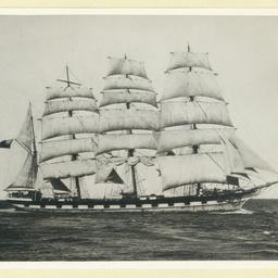 The 'Loch Carron' under sail