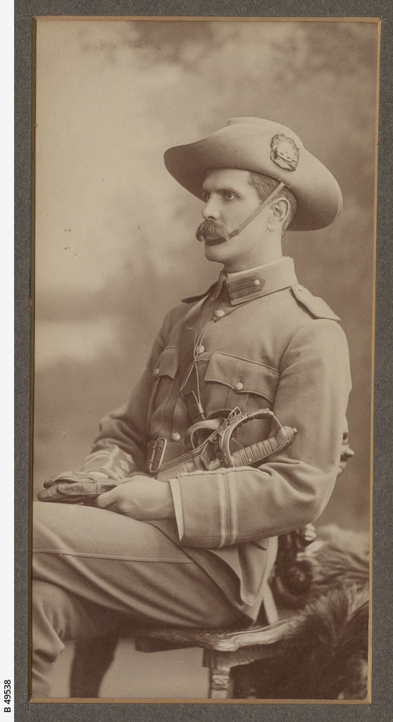 Army officer, Percival Harris Mitchell