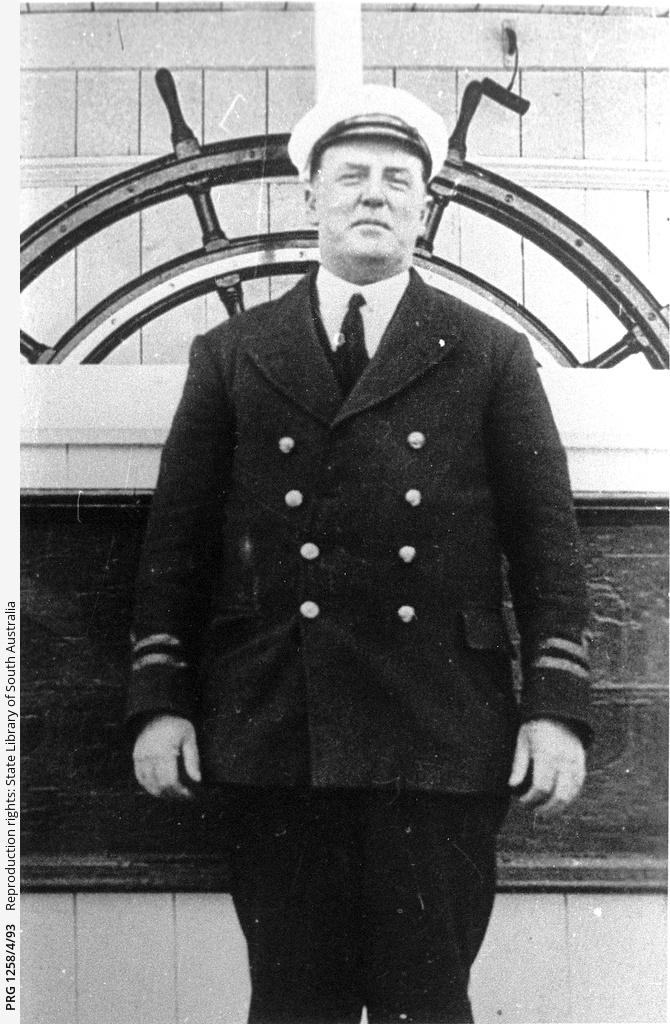 Captain Alexander on P.S. Gem