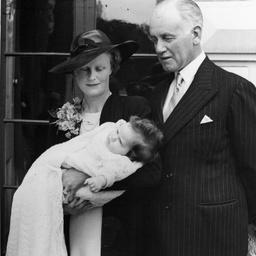 Annabel's christening