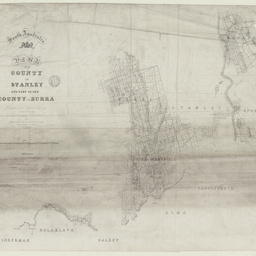 Plan of the County of Stanley and part of the County of Burra [cartographic material] / by Richard Loveday