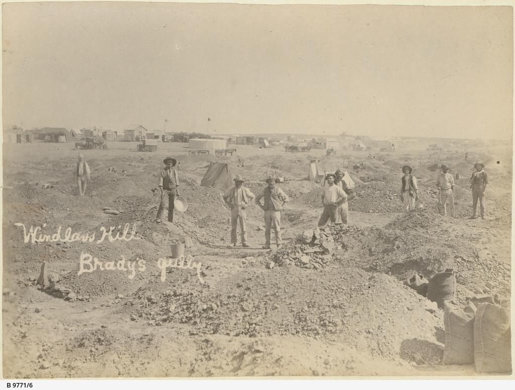 Windlass Hill, Brady's Gully, Teetulpa