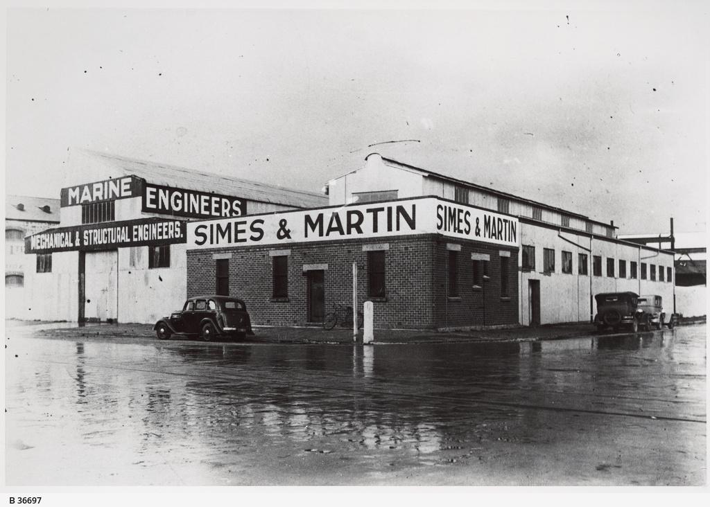 Simes & Martin, Engineers