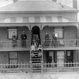Arthur Searcy's family home in Albert Street, Semaphore