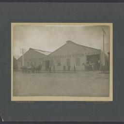 South Australian Co-operative Farmers' Union skin and grain store