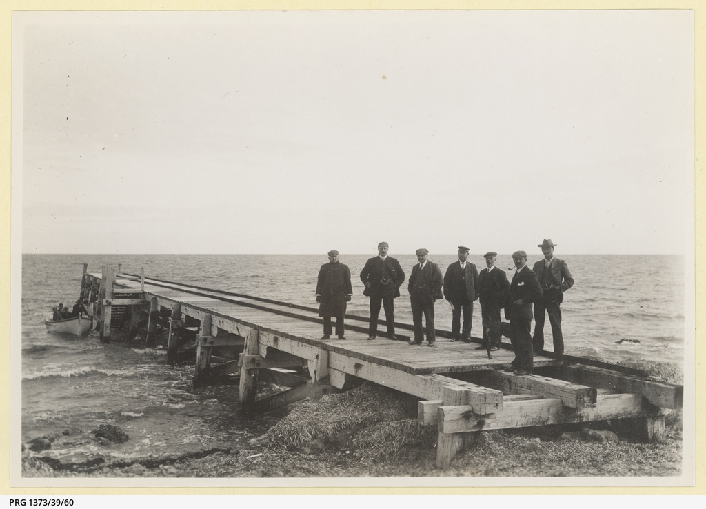 Old jetty Balgowan 1905