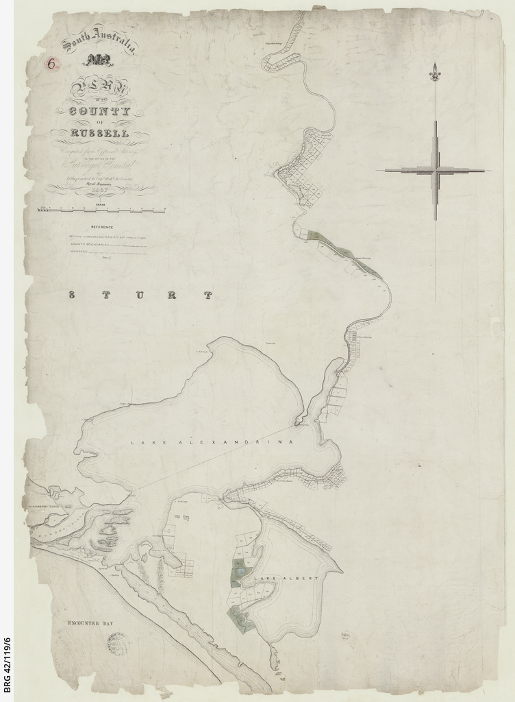 Plan of the County of Russell [cartographic material]/ by Richard Loveday
