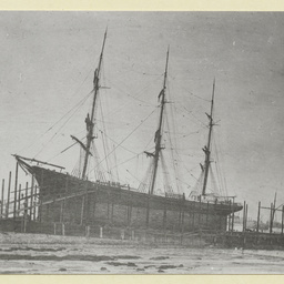 'County of Yarmouth' wooden ship