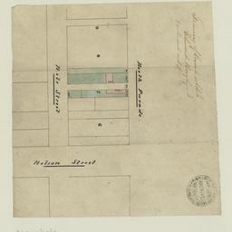 [Plan of McLaren Wharf] [cartographic material]