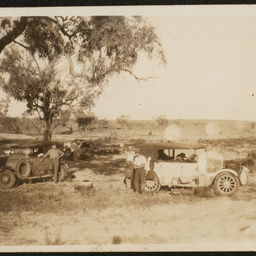 Camp at Innamincka