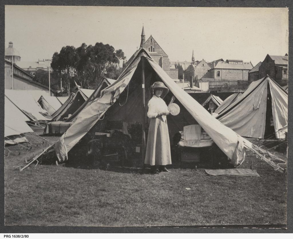Woman at Quarantine Camp