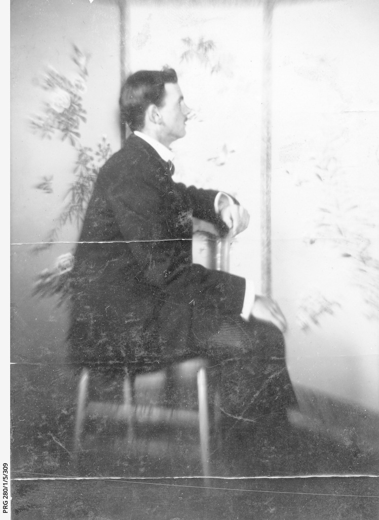 Charles Arthur Searcy as a young man