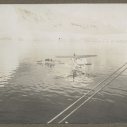 Lockheed Vega in the water