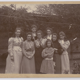 Group of young ladies