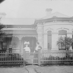 The Searcy family home in North Adelaide